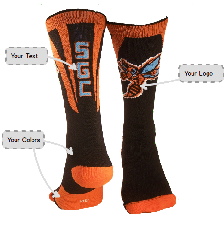 custom sock elements