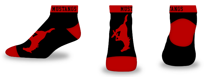 Custom Logo - Low-ankle - Blank Slate Style Socks
