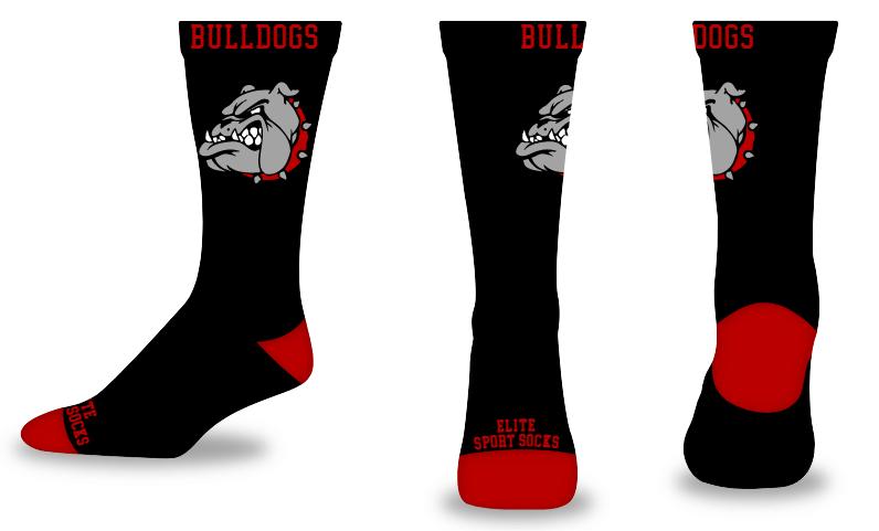 Custom Logo & Text - Crew - Blank Slate Style Socks