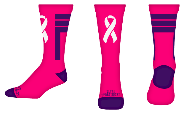 Awareness - Crew - Stripes Style Socks